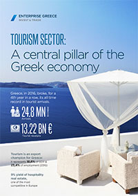 Tourism sector: A central pillar of the Greek Economy Download