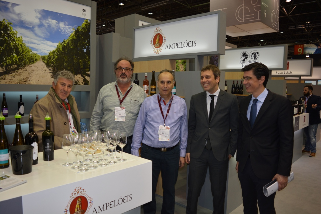 Το ελληνικό κρασί όλο και πιο γνωστό σε διεθνές επίπεδο