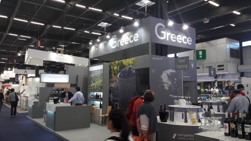 Το Ελληνικό Κρασί στη VINEXPO BORDEAUX 2017