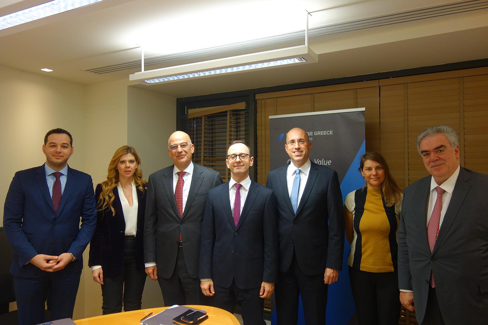 Δύο επενδυτικά έργα ύψους 331 εκ. ευρώ, που δημιουργούν 822 νέες θέσεις εργασίας, ενέκρινε το πρώτο ΔΣ της Enterprise Greece παρουσία του Υπουργού Εξωτερικών, κ. Ν. Δένδια