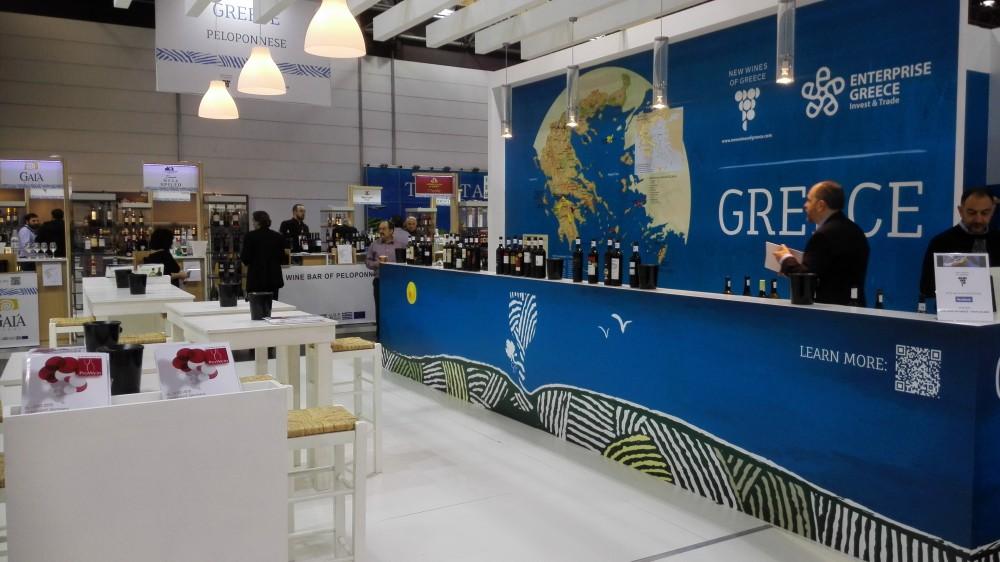 Το Enterprise Greece στη Διεθνή Έκθεση Οίνου και Ποτών PROWEIN 2015