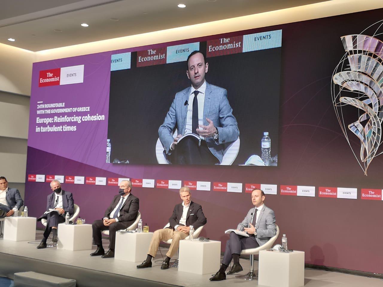 Συμμετοχή του Προέδρου της Enterprise Greece στο Συνέδριο του Economist