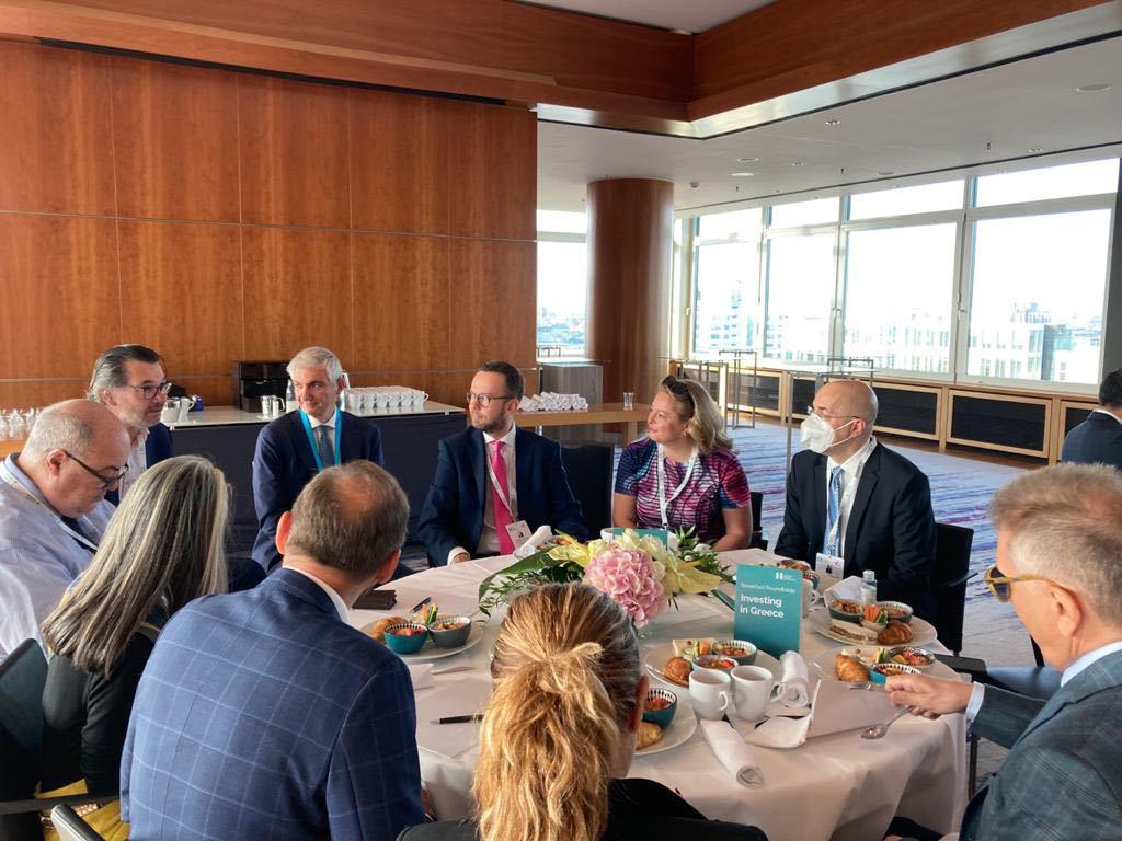 Δυναμική παρουσία της Enterprise Greece στο διεθνές Συνέδριο «International Hotel Investment Forum»