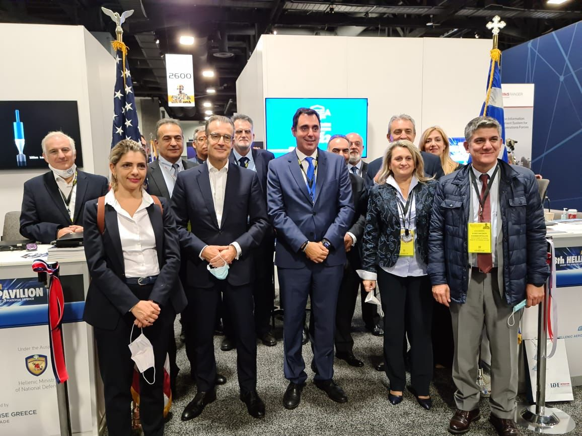 Enterprise Greece: Συμμετοχή στη μεγαλύτερη εμπορική έκθεση  συστημάτων αμυντικού εξοπλισμού στη Βόρεια Αμερική