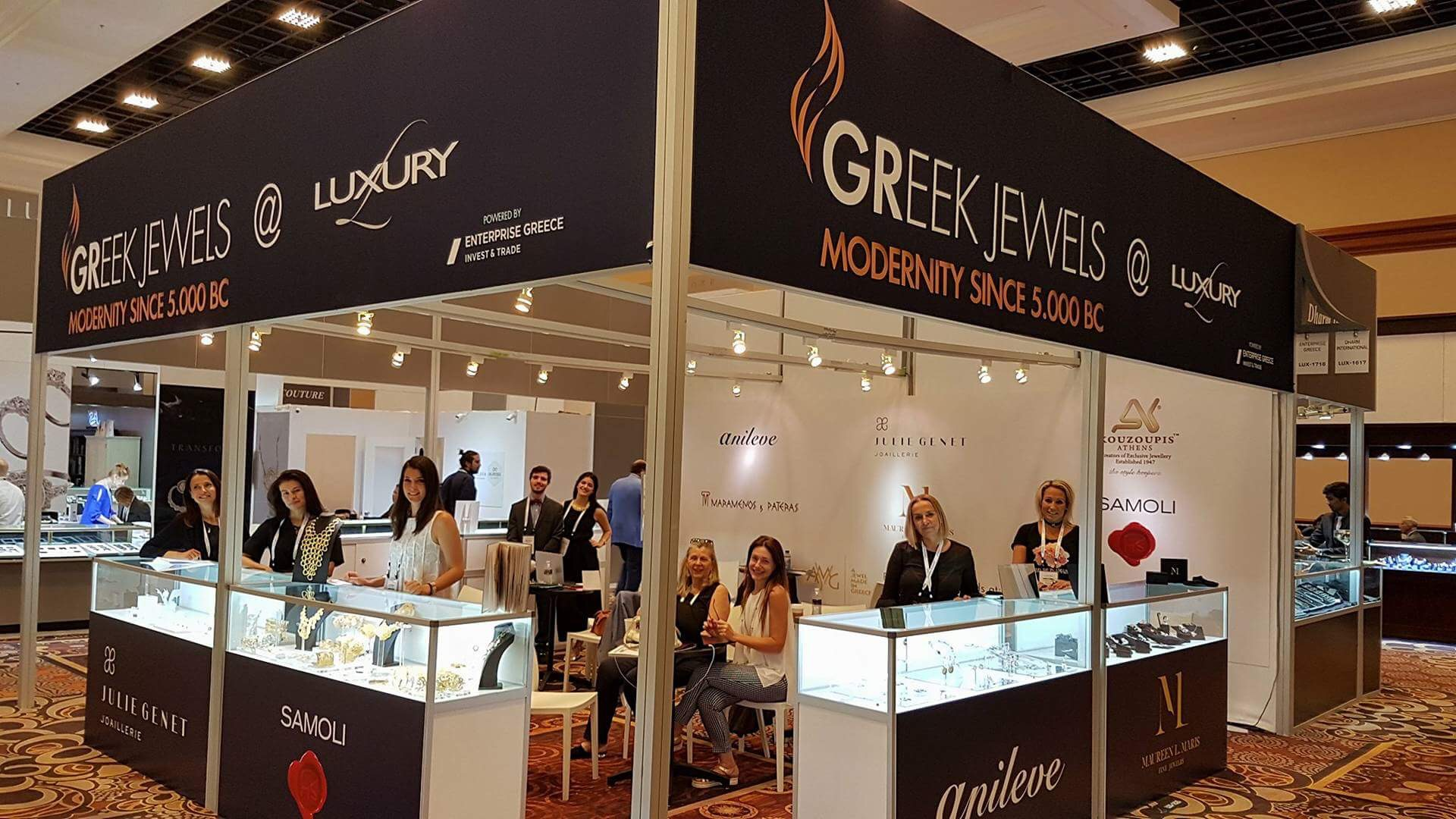 Fourteen leading Greek jewelry companies participated in the JCK International Jewelry Exhibition in Las Vegas showcasing the timeless beauty and design of ...