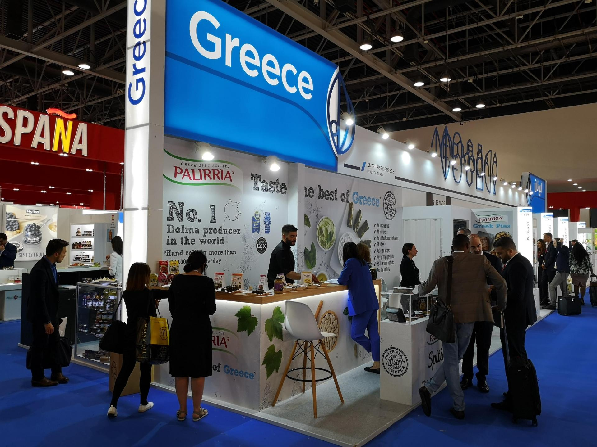 Record Greek presence at GULFOOD 2020, the largest international food fair  in the Middle East