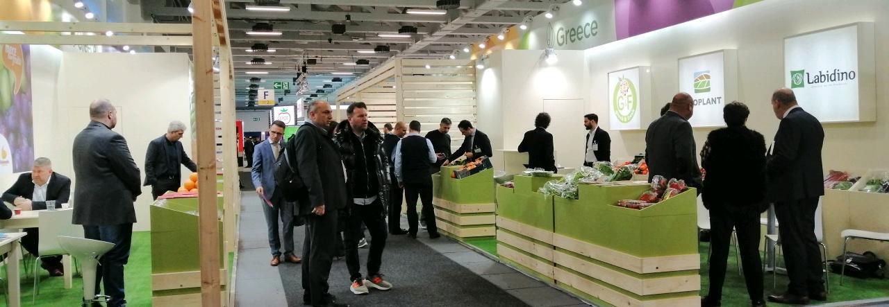 Μεγάλη συμμετοχή Ελλήνων εξαγωγέων στην Διεθνή Έκθεση FRUITLOGISTICA στην Γερμανία