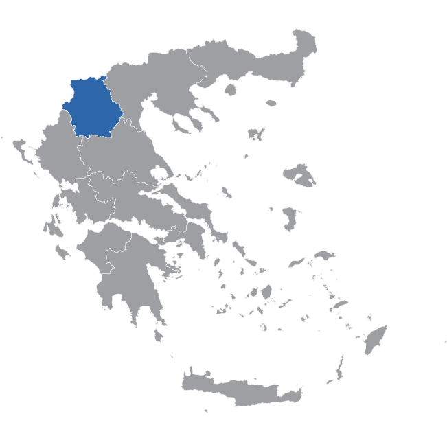 Western Macedonia Map