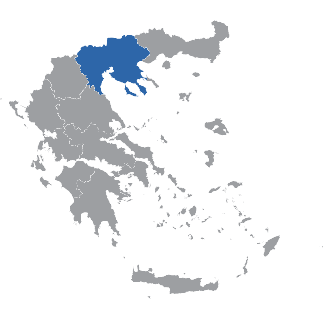 Central Macedonia Map
