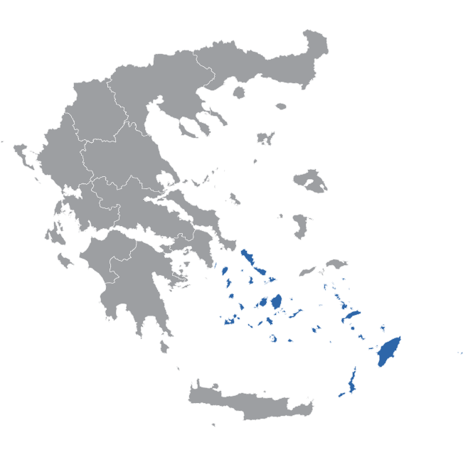 South Aegean Map